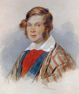 Peter Fedorovich Sokolov. Prince Pyotr Andreyevich Vyazemsky. 1830