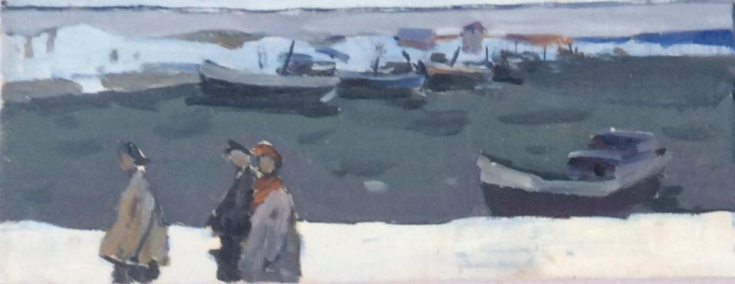 "Nikolay Petrovich Karjakin. Etude 2 ""Snow fell"""
