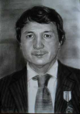 Olga Vladimirovna Mikhaylenko. Portrait of a man