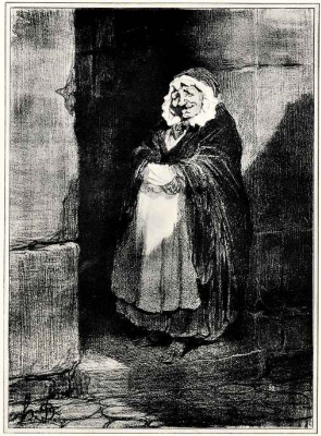 Honore Daumier. Shh!