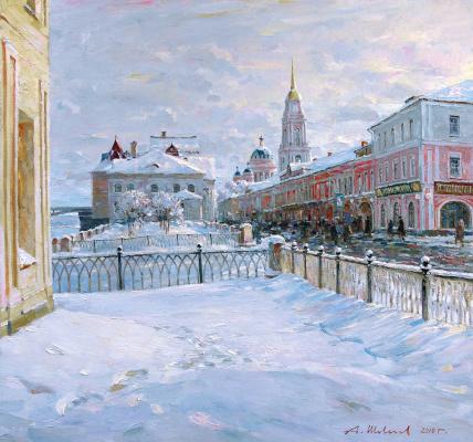 Alexander Victorovich Shevelyov. Spring sun in Rybinsk
