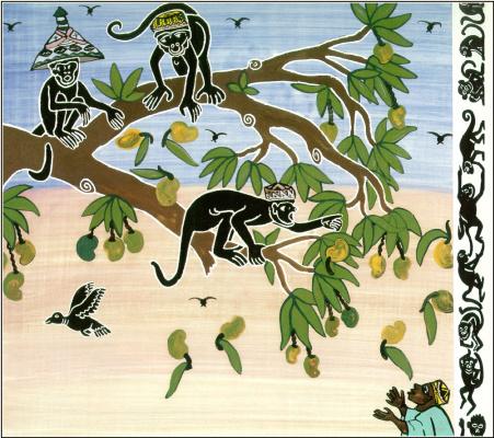 Ладжи Диаките. Продавец шляп и обезьяны 11