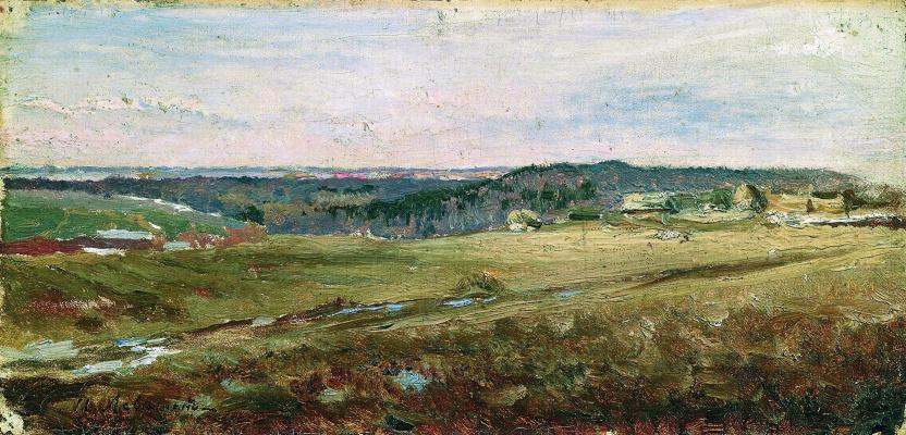 Isaac Levitan. Field