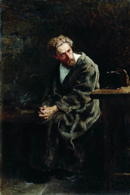 Vladimir Egorovich Makovsky. Prisoner