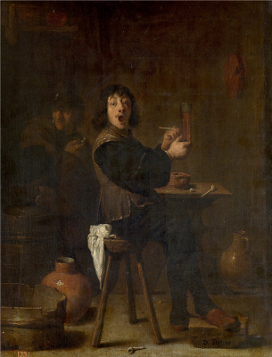 David Teniers the Younger. Fun soldier