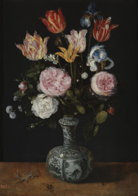 Jan Bruegel The Elder. Vase with Flowers