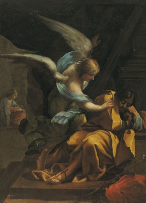 Francisco Goya. The Dream Of St. Joseph