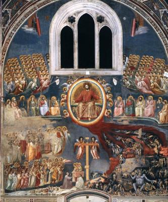 Giotto di Bondone. The Last Judgment