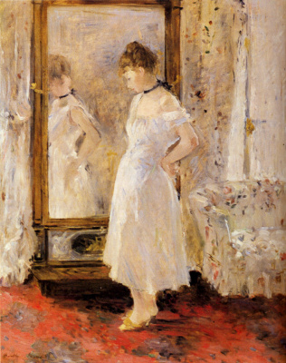 Berthe Morisot. Dressing table