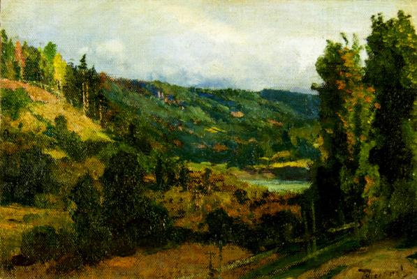 Vasily Dmitrievich Polenov. Mountainous Oyati River