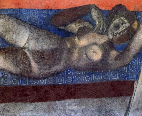Франко Джентилини. Голая женщина