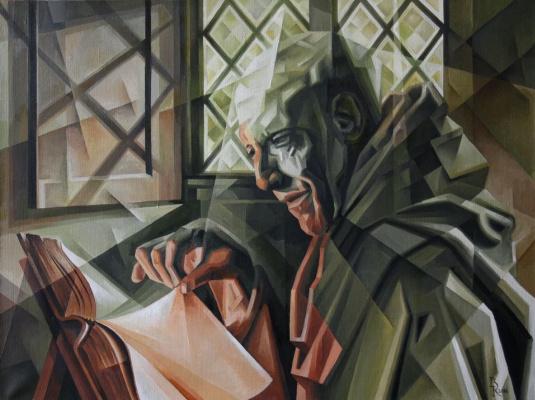 Vasily Krotkov. Chronicler. Kubofuturizm