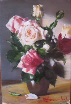 Andrey Bashirov. Розы на солнце