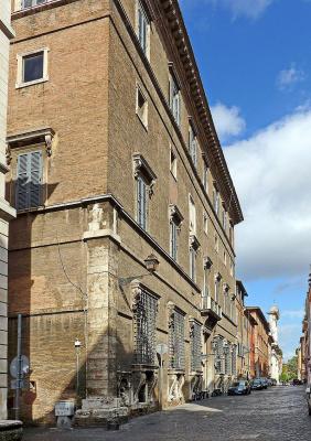 Antonio Junior yes Sangallo. Palazzo Sacchetti