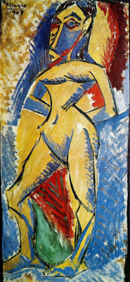 Pablo Picasso. Standing Nude