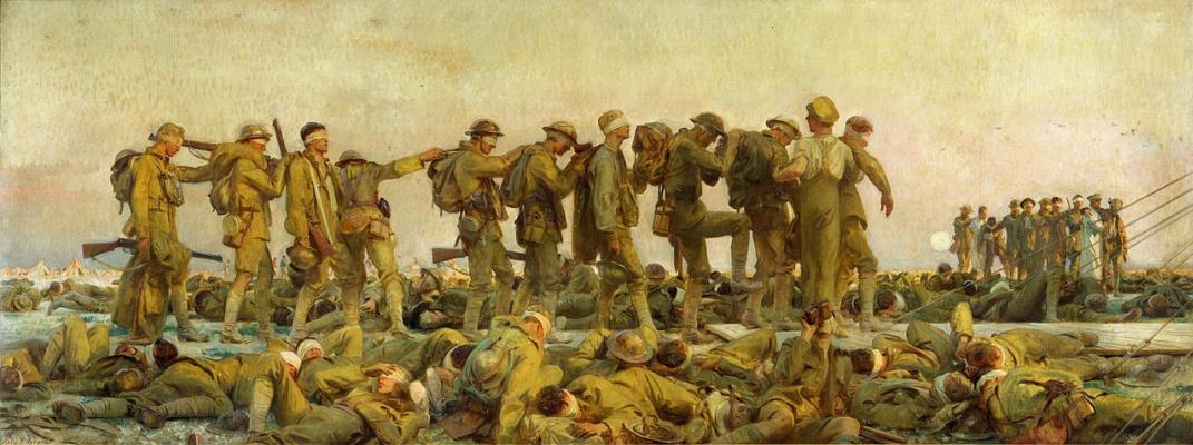 John Singer Sargent. Fumes