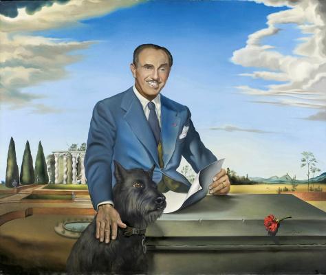 Salvador Dali. Portrait of Colonel Jack Warner