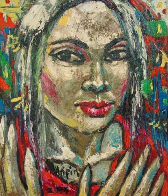 Мухаммед Арифин. Девушка с красными губами