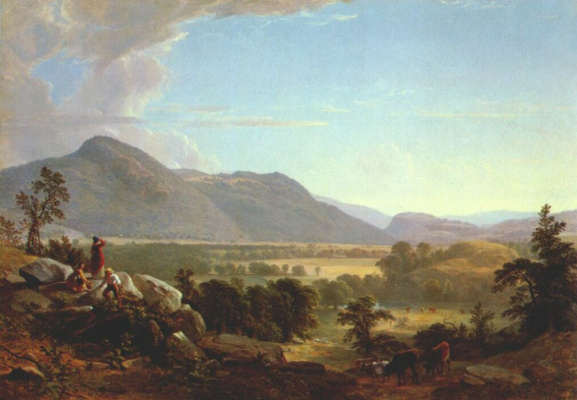 Asher Brown Durand. Plain, New York