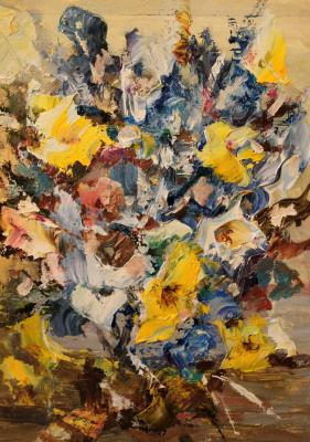 Love Sergeyevna Nikulina. Flowers