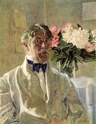 Alexander Yakovlevich Golovin. Self-portrait