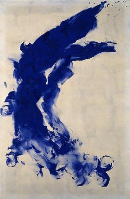 Yves Klein. Anthropometry 9