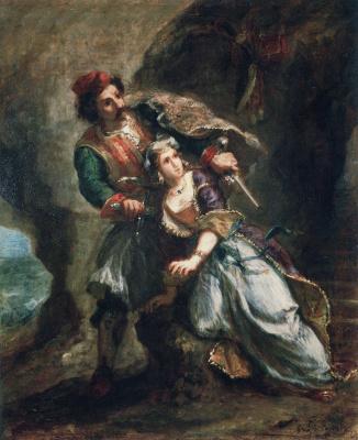 Эжен Делакруа. Абидосская невеста