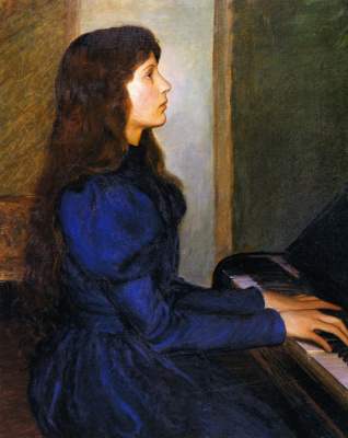 Lila Cabot Perry. Playing by heart