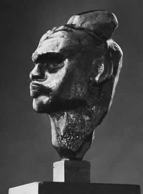 Auguste Rodin. Head Nijinsky