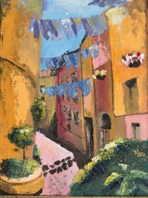 Larisa Benko. Roman street