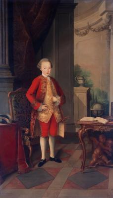 Мигел Антониу ду Амарал. Portrait of Jose, Prince of Brazil and Beiran