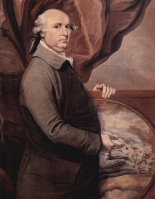 George Stubbs. Self-portrait