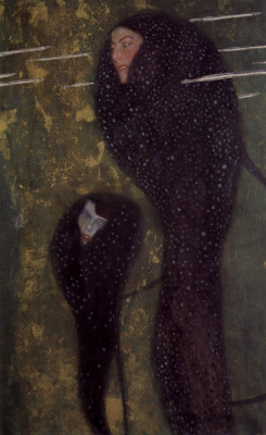 Gustav Klimt. Water nymphs (Silver fish)