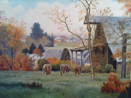 "Stepan Vladimirovich Kashirin. ""The farm"". Luxembourg."
