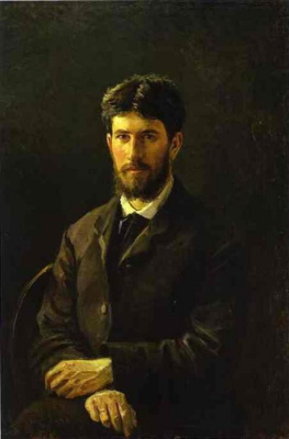 Nikolai Nikolaevich Ge. Portrait of Piotr Gay, the artist's son