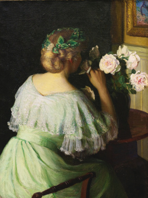 Lila Cabot Perry. The scent of roses