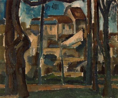 Andre Derain. Landscape in Carris