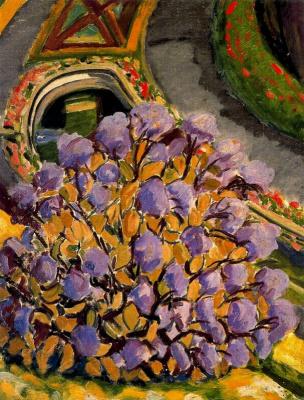 Франциско Итуррино. Сиреневые цветы