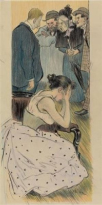 Theophile-Alexander Steinlen. His family