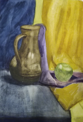 Polina. Still Life with a Jug