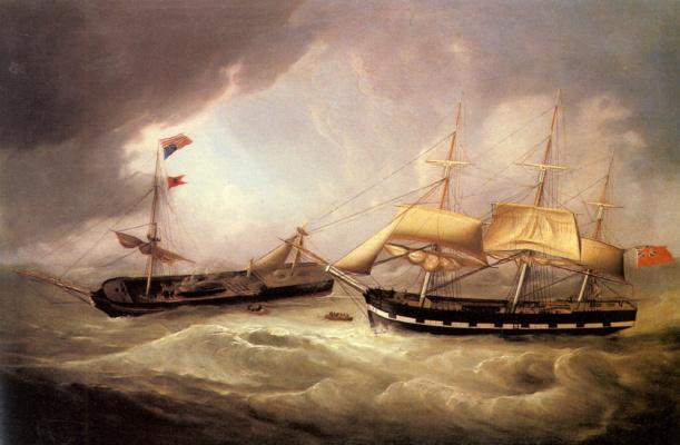 Пассажирское и торговое судна Соединенных Штатов