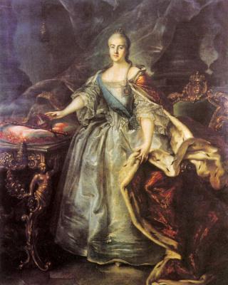 Иван Петрович Аргунов. Портрет Екатерины II