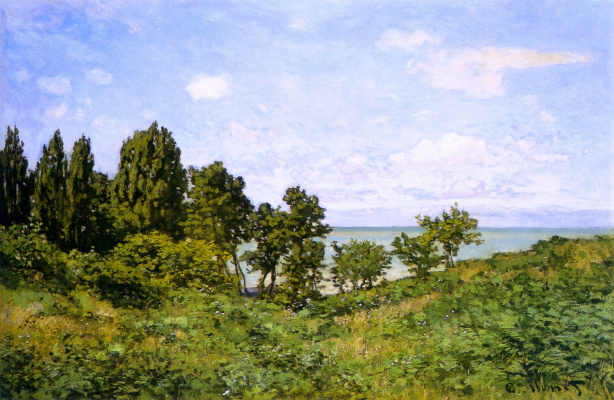Claude Monet. The sea