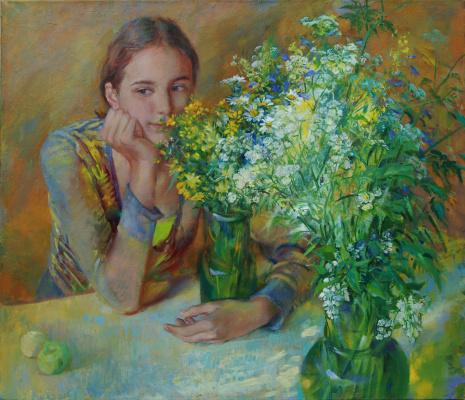 Love White. Fifteenth summer