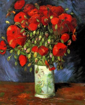 Винсент Ван Гог. Ваза с красными маками