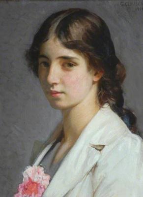 George Clausen. Nellie St John Heaton