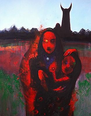Nikolai margin. Motherhood