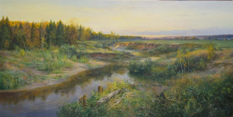 Sergey Vladimirovich Vorotilov. Autumn evening