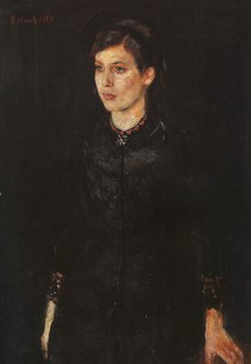 Edvard Munch. Sister Inger