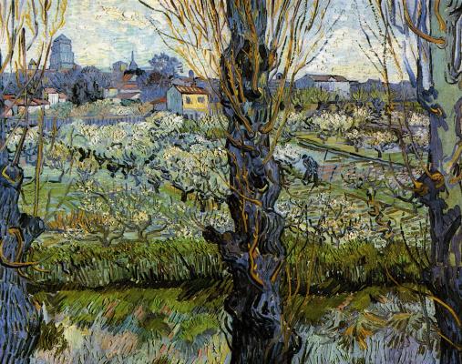 Винсент Ван Гог. Вид на Арль